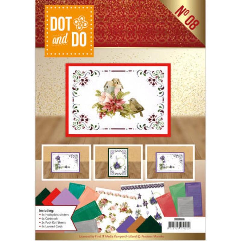 Dot and do Livre n°8 - Kit Carte 3D - Precious Marieke Noël