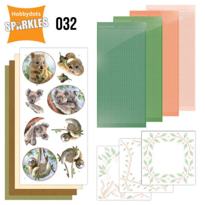 Kit Sparkles Set 32 - Animaux sauvages australie
