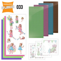 Kit Sparkles Set 33 - Bubbly girls surprise party