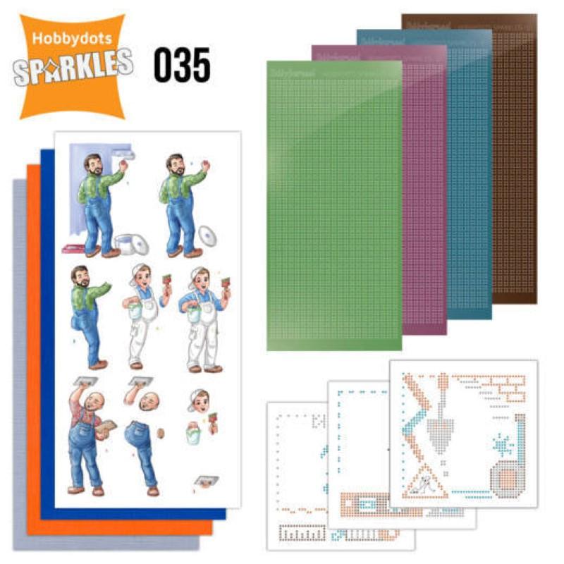 Kit Sparkles Set 35 - Bigs guys ouvriers