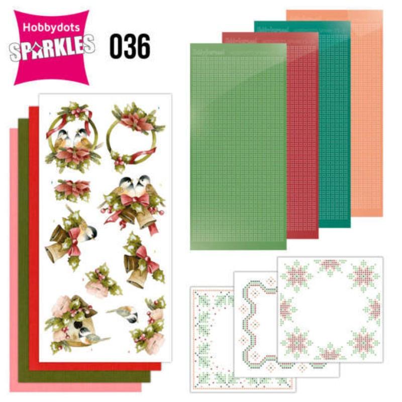 Kit Sparkles Set 36 - Oiseaux à Noël
