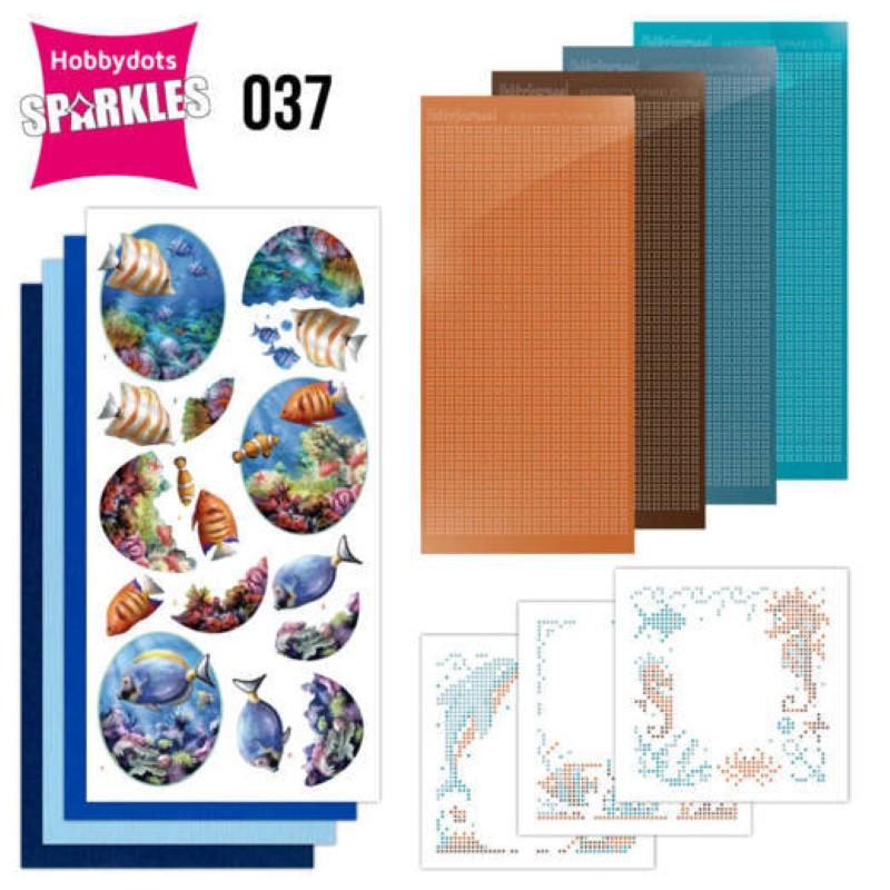 Kit Sparkles Set 37 - Monde sous marin