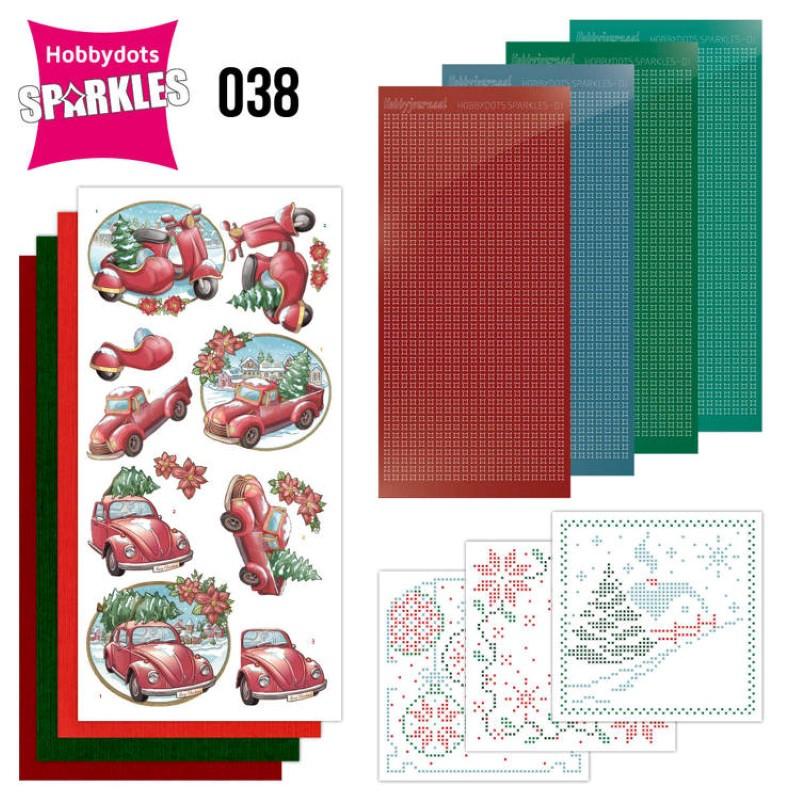 Kit Sparkles Set 38 - Transport à Noël