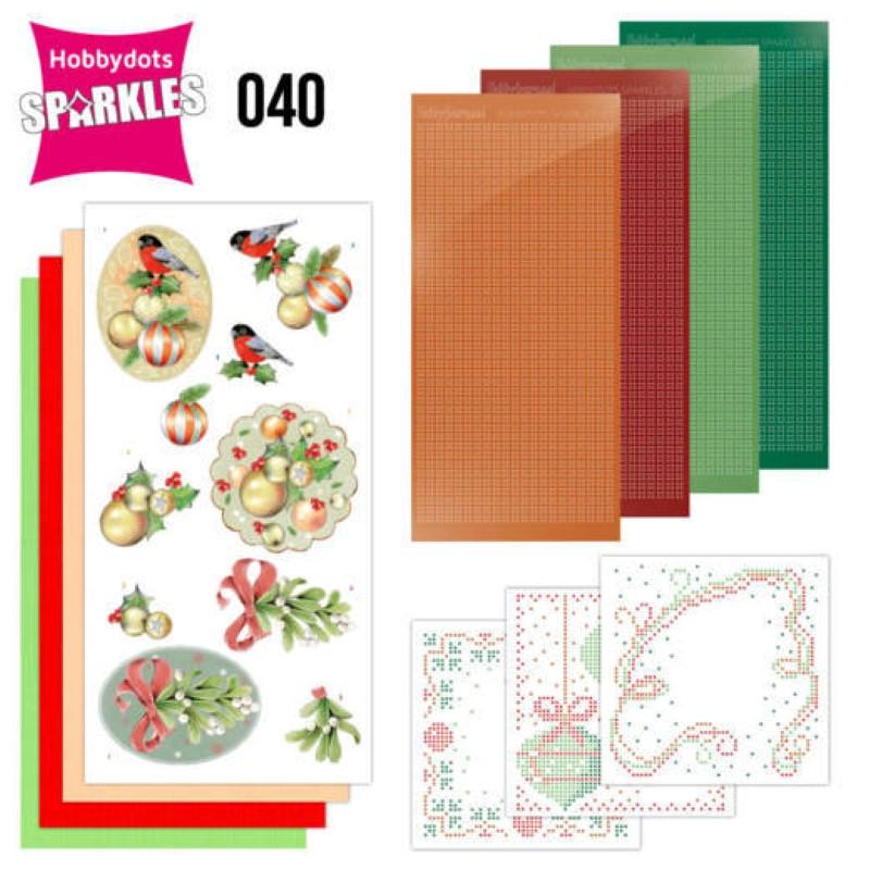 Kit Sparkles Set 40 - Fleurs de Noël