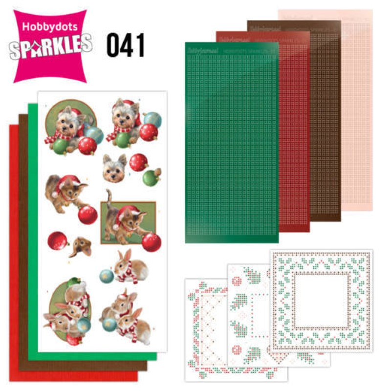 Kit Sparkles Set 41 - Animaux à Noël