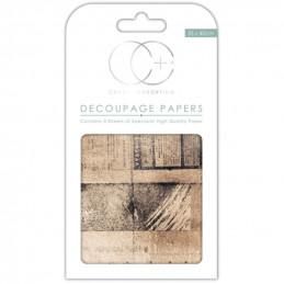 Papier patch 3 feuilles 35x40 cm  OId News