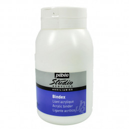 Bindex Liant acrylique Pébéo Studio - 500 ml