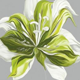 Image 3D - FP99219 - 30x30 - Lys vert n°2