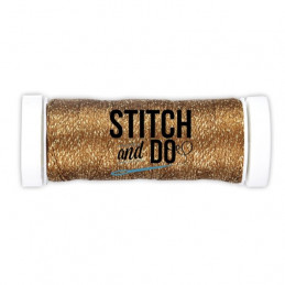 Fils à broder Stitch and Do Sparkle Bronze bobine de 120m