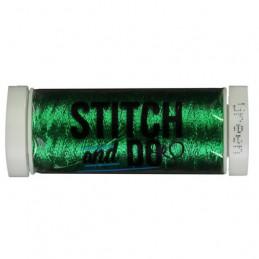 Fils à broder Stitch and Do Métal Vert bobine de 200m