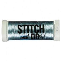 Fils à broder Stitch and Do Métal Ice bobine de 200m