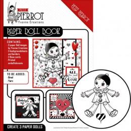 Paper Doll Book - Yvonne Créations - Petit Pierrot
