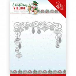 Dies - Yvonne Creations - Christmas village - Guirlande de Noël