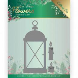 Die - Jeaninnes art - JAD10104 - Christmas flowers - Lanterne