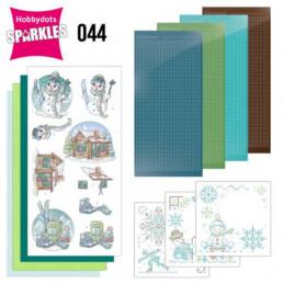 Kit Sparkles Set 44 - Bonhommes de neige et skis