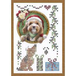 Livre Sparkles A6 N°1 - Animaux à Noël exemple 1
