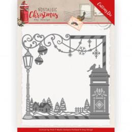 Die - ADD10220 - Nostalgic Christmas - Cadre Noël 12.5 x 12.5 cm