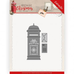 Die - ADD10226 - Nostalgic Christmas - Boite aux lettres 9.7 x 6.5 cm