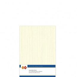 Carte 14.5 x 21 cm uni Ivoire paquet de 10