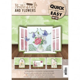 Quick and easy 12 - Jeanine's Art - Classic Butterflies and Flowers