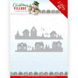 Dies - Yvonne Creations - Christmas village - Maisons