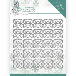 Dies - Yvonne Creations - Winter Time - Cadre flocons