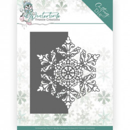 Dies - Yvonne Creations - Winter Time - Bordure flocon YCD10215