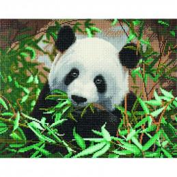 Broderie diamant Kit tableau 40x50cm Panda
