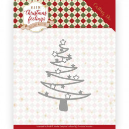 Die - Precious marieke - Warm Christmas feelings - Sapin étoilé - PM10164