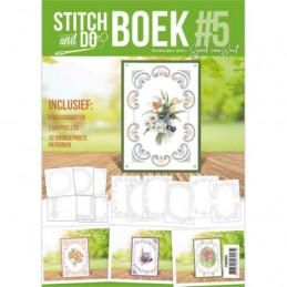 Stitch and Do Livre n°5 - Kit Carte 3D à broder