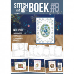 Stitch and Do Livre n°8 - Kit Carte 3D à broder