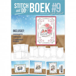 Stitch and Do Livre n°9 - Kit Carte 3D à broder