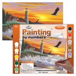Peinture par Numéro - Le phare - 40x30 cm