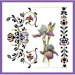 Dot and do 191 - kit Carte 3D  - Pretty flowers
