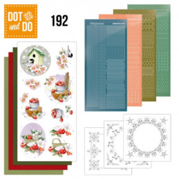 Dot and do 192 - kit Carte 3D  - Hiver froid