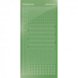 Stickers Hobbydots série 16 Miroir Lime