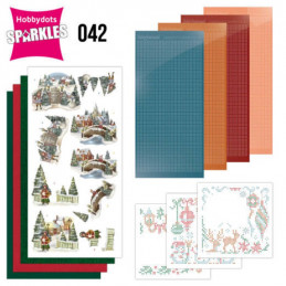 Kit Sparkles Set 42 - Animaux à Noël