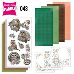 Kit Sparkles Set 43 - Chouettes romantiques