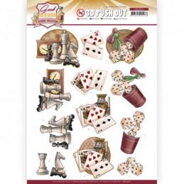 Carte 3D prédéc. - SB10507 -  Good old day's - Jeux