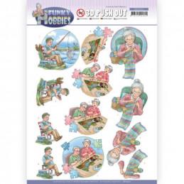 Carte 3D prédéc. - SB10512 - Funcky hobbies - Loisirs