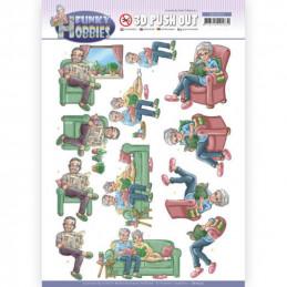 Carte 3D prédéc. - SB10513 - Funcky hobbies - Lecture