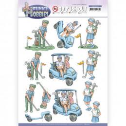 Carte 3D prédéc. - SB10514 - Funcky hobbies - Golf