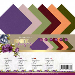 Set 24 cartes A5 - Romantic Roses