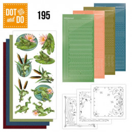 Dot and do 195 - kit Carte 3D  - Grenouilles