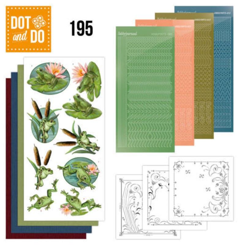 Dot and do 195 - kit Carte 3D  - Grenouilles