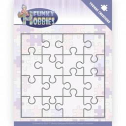 Dies - Yvonne Creations - Funky hobbies  - Puzzle - YCD10226