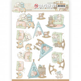 Carte 3D prédéc. - SB10521 - Naissance - Jouets de bébé