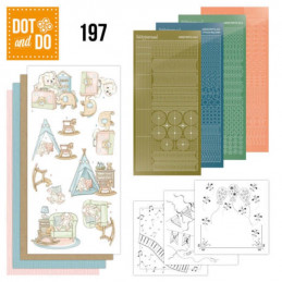 Dot and do 197 - kit Carte 3D  - Naissance