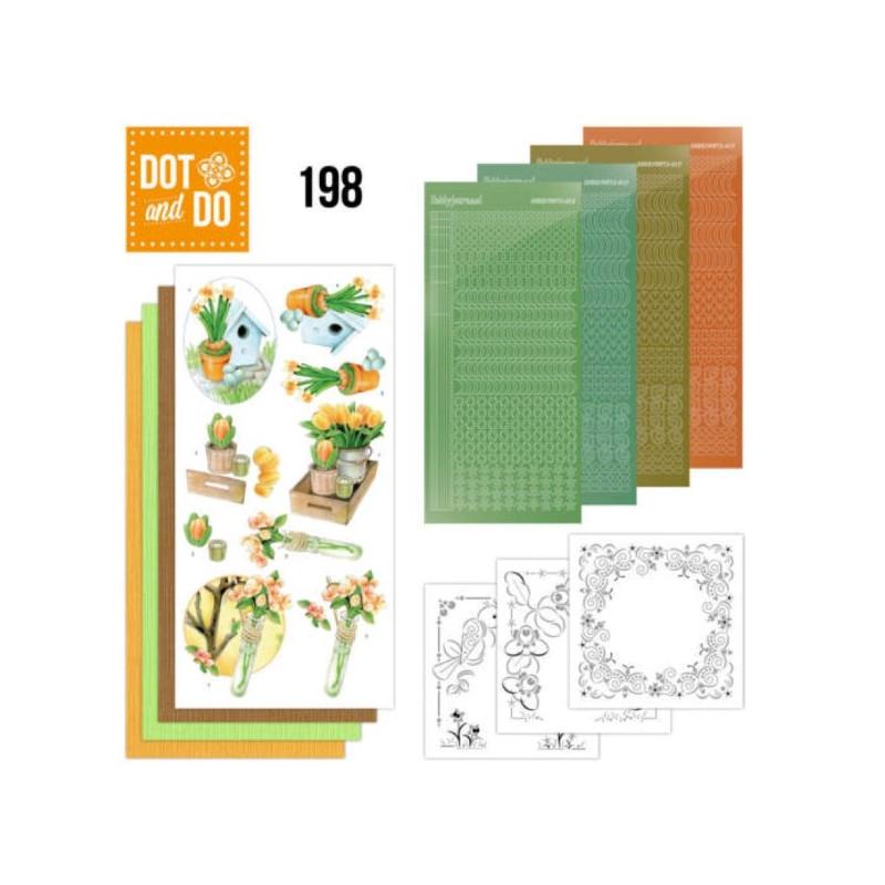 Dot and do 198 - kit Carte 3D  - Bienvenue au printemps