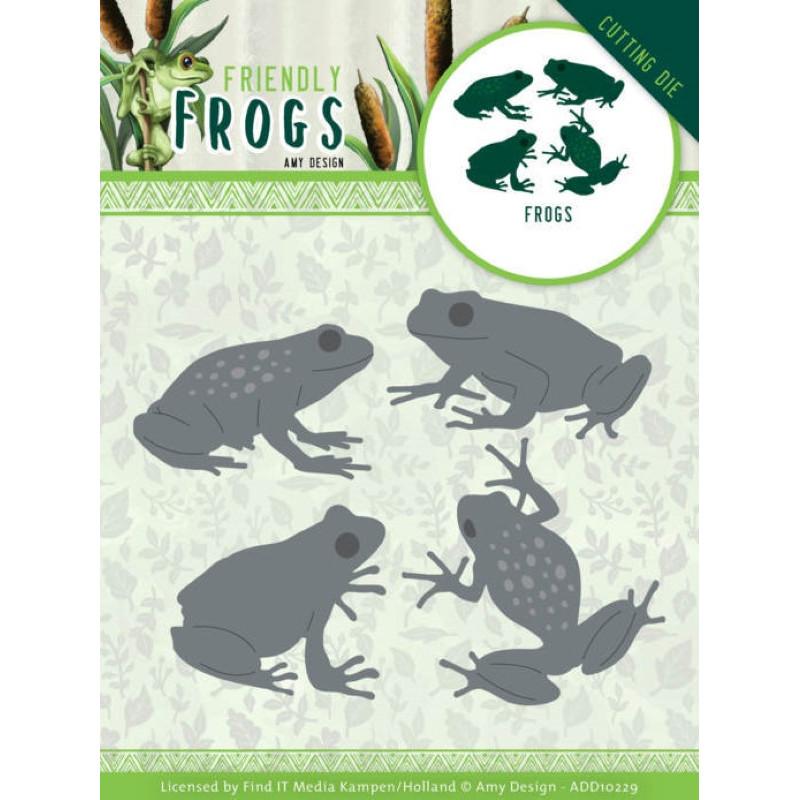 Die - ADD10229 - Friendly frogs - Grenouilles